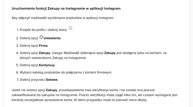Jak sprzedawać przez Instagrama